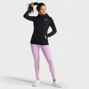 Gymshark Women's Crest Hoodie in Black